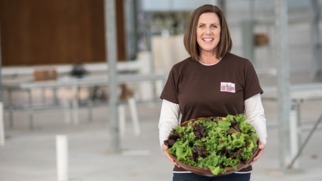 Tracy Westbrook founder of atlantic beach urban farm and a basil sister in jacksonville florida